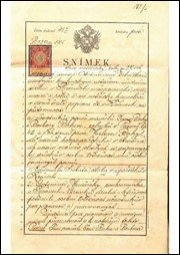 BABICE SPIS NOTÁŘSKÝ RAKOUSKO-UHERSKO Z ROKU 1905