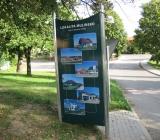05.09.2008 Orientační plán obce Babice - Montáž totemu