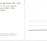 Pohlednice k výročí narození Otakara Brennera 1
