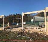 Stavba sportovního areálu Babice