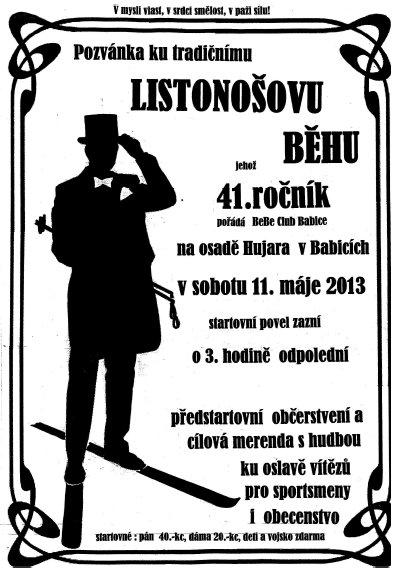 Listonosuv_beh_2013