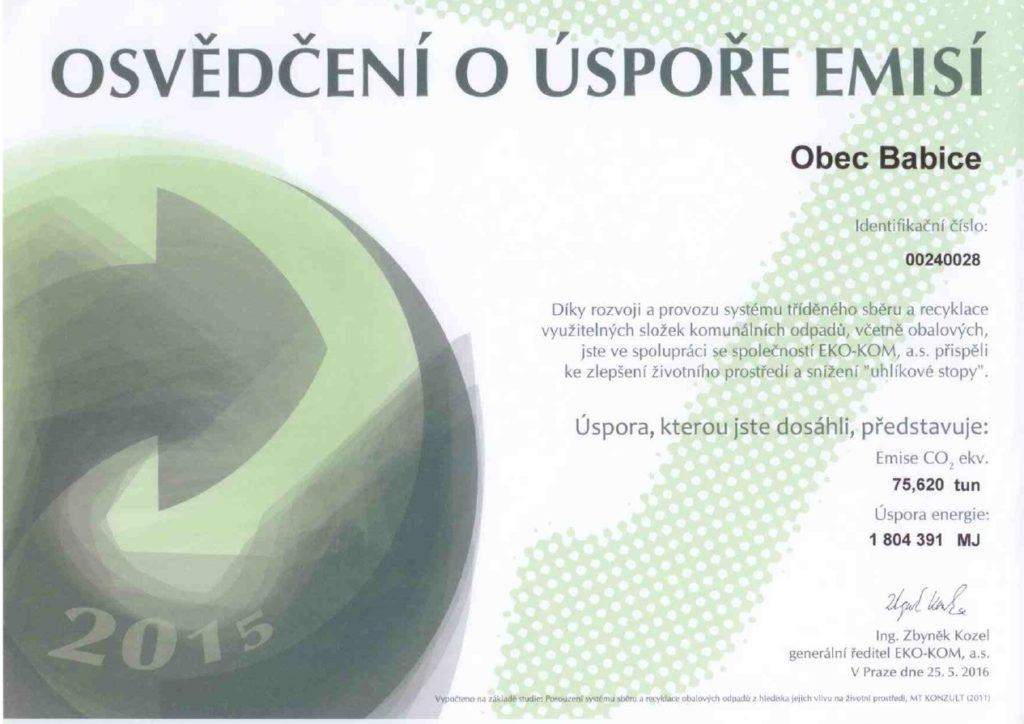 Osvedceni_o_uspore_emisi